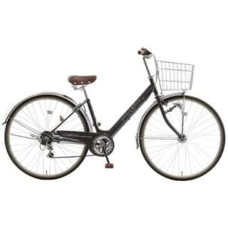 27型 自転車 ジオクロス プラス 276(ツヤケシブラック/外装6段変速/LEDオートライト) FV76BI【2020年モデル】 【組立商品につき返品不可】