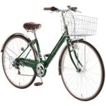 27型 自転車 ジオクロス プラス 276(ディープグリーン/外装6段変速/LEDオートライト) FV76BI【2020年モデル】 【組立商品につき返品不可】