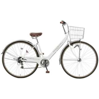 27型 自転車 ジオクロス プラス 276(ホワイト/外装6段変速/LEDオートライト) FV76BI【2020年モデル】 【組立商品につき返品不可】