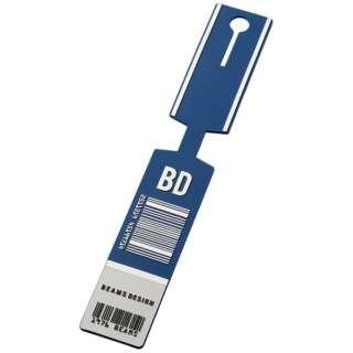 BEAMS DESIGN ラゲッジタグ(バーコード) ネイビー GW-BD51-006