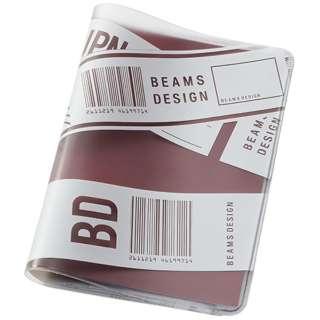 BEAMS DESIGN クリアパスポートカバー GW-BD53-004