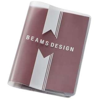 BEAMS DESIGN クリアパスポートカバー GW-BD54-004