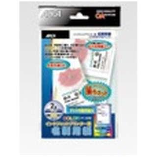 WP5206 〔インクジェット〕 名刺用紙 フォトペーパー・光沢 0.26mm [はがきサイズ /10シート /2面]