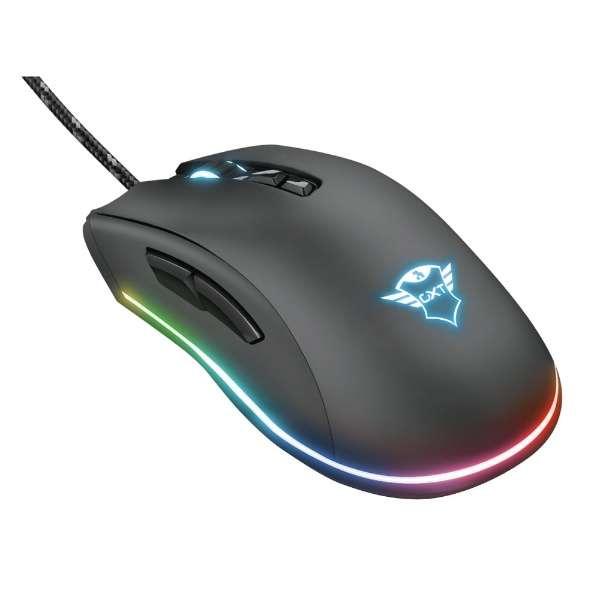 ゲーミングマウス GXT 900 Qudos RGB Gaming Mouse 23400 [光学式 /有線 /7ボタン /USB]
