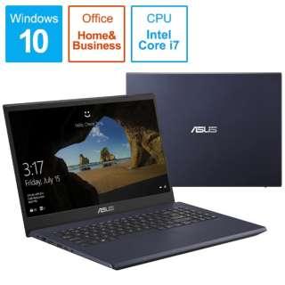 X571GT-AL280TS ノートパソコン ASUS X571GT スターブラック [15.6型 /intel Core i7 /Optane:32GB /SSD:512GB /メモリ:16GB /2019年12月モデル]