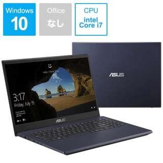 X571GT-AL280T ノートパソコン ASUS X571GT スターブラック [15.6型 /intel Core i7 /Optane:32GB /SSD:512GB /メモリ:16GB /2019年12月モデル]