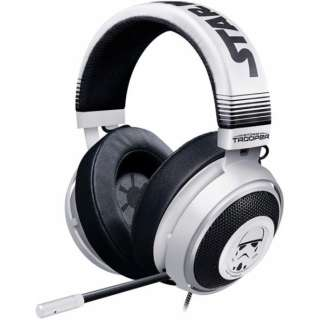 RZ04-02830600-R3M1 ゲーミングヘッドセット Kraken Stormtrooper Edition [φ3.5mmミニプラグ /両耳 /ヘッドバンドタイプ]