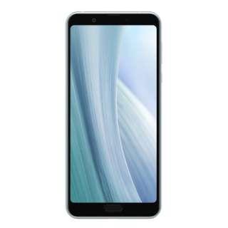 【防水・防塵・おサイフケータイ】AQUOS sense3 plus ムーンブルー「SH-M11-A」6.0型 Snapdragon 636 メモリ/ストレージ:6GB/128GB nanoSIM x2 DSDV対応 SIMフリースマートフォン