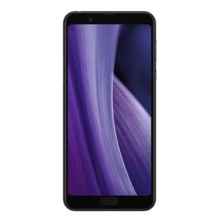 【防水・防塵・おサイフケータイ】AQUOS sense3 plus ブラック「SH-M11-B」6.0型 Snapdragon 636 メモリ/ストレージ:6GB/128GB nanoSIM x2 DSDV対応 SIMフリースマートフォン