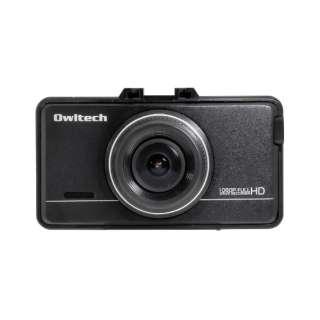 ドライブレコーダー OWL-DR802G-2C [セパレート型 /Full HD(200万画素) /前後カメラ対応 /駐車監視機能付き]