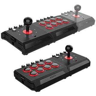 PS4/PS3/Switch用 ファイティングジョイスティック右王左王 ANS-H113 【Switch】