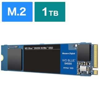 WDS100T2B0C 内蔵SSD WD BLUE SN550 [M.2 /1TB]