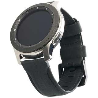 UAG社製 Galaxy Watchバンド GalaxyWatch 46mm用 LEATHERシリーズ(ブラック) UAG-RGWLL-BK