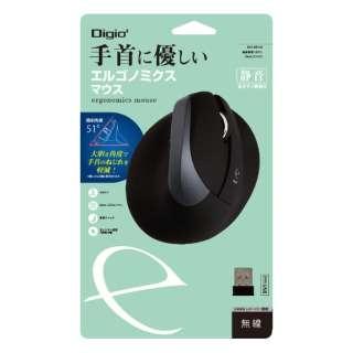 MUS-RKF169BK マウス Digio2 ブラック [BlueLED /5ボタン /USB /無線(ワイヤレス)]