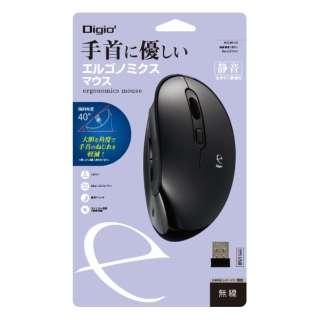 MUS-RKF170BK マウス Digio2 ブラック [BlueLED /5ボタン /USB /無線(ワイヤレス)]