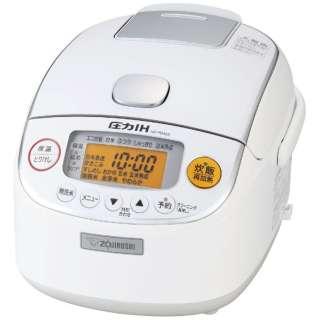 NP-RM05-WA 炊飯器 極め炊き ホワイト [3合 /圧力IH]