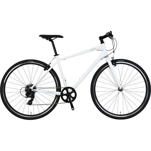 700×32C クロスバイク VACANZE 2 バカンゼ2(ホワイト/7段変速/サイズ:480mm) NE-20-016【2020年モデル】 【組立商品につき返品不可】