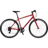 700×32C クロスバイク VACANZE 2 バカンゼ2(レッド/7段変速/サイズ:480mm) NE-20-016【2020年モデル】 【組立商品につき返品不可】
