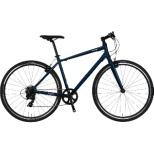 700×32C クロスバイク VACANZE 2 バカンゼ2(マットダークブルー/7段変速/サイズ:480mm) NE-20-016【2020年モデル】 【組立商品につき返品不可】