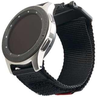UAG社製 Galaxy Watchバンド GalaxyWatch 46mm用 ACTIVEシリーズ(ブラック) UAG-RGWLA-BK