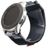 UAG社製 Galaxy Watchバンド GalaxyWatch 46mm用 ACTIVEシリーズ(ミッドナイトカモ) UAG-RGWLA-MC