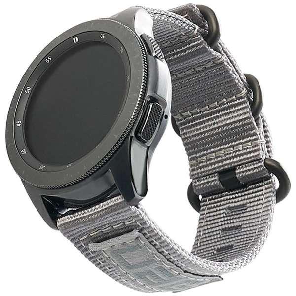 UAG社製 Galaxy Watchバンド GalaxyWatch 42mm用 NATOシリーズ(グレー) UAG-RGWSN-GR