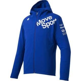 メンズ ジャケット サンスクリーンクロス フーデッドジャケット(Mサイズ/ブルー) DMMNJF16