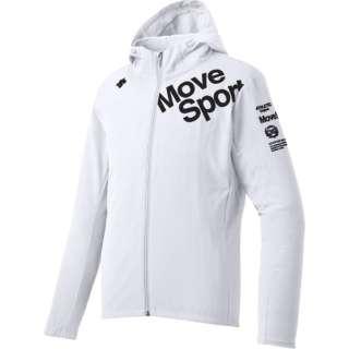 メンズ ジャケット サンスクリーンクロス フーデッドジャケット(Mサイズ/ホワイト) DMMNJF16