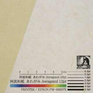 〔各種プリンタ〕 コピーができる和紙 羽二重 0.15mm(A4・10枚) アイボリー No.66