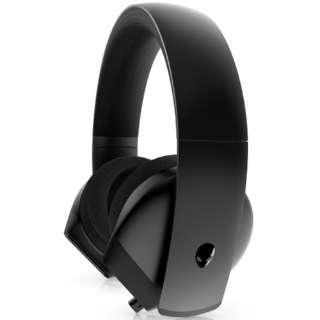 AW310H ゲーミングヘッドセット ALIENWARE ステレオ ブラック [φ3.5mmミニプラグ /両耳 /ヘッドバンドタイプ]