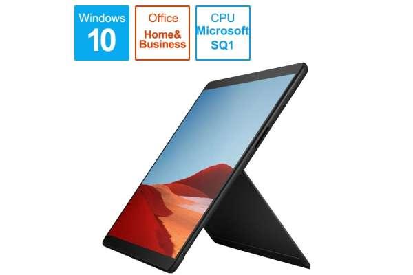 Microsoft「Surface Pro X」MJX-00011