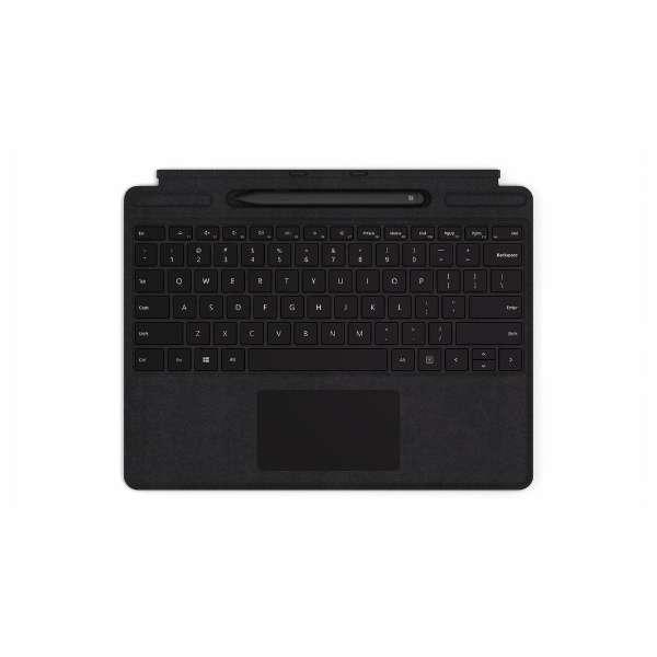【純正】 Surface Pro X Signature キーボード スリム ペン付き(英字配列) ブラック QSW-00021