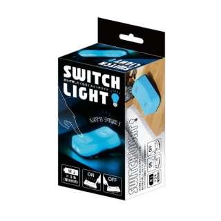 ビックなスイッチ型LEDライト ブルー SWL-BL