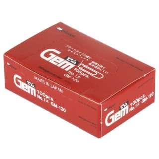 ゼムクリップ大100本 GM-120