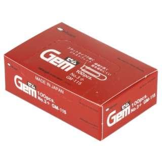 ゼムクリップ小100本 GM-115