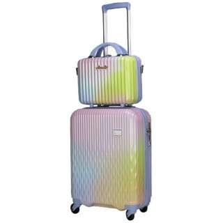 LUNALUX(ルナルクス)スーツケース ハード ジッパー わたあめ LUN2116-48