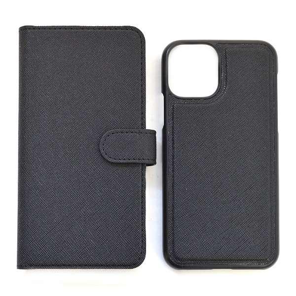 iPhone11用 2WAY手帳ケース ブラック 5361IP961BO