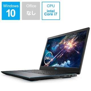 NG385-9WLCB ゲーミングノートパソコン Dell G3 15 3590 ブラック [15.6型 /intel Core i7 /SSD:512GB /メモリ:16GB /2019年秋冬モデル]