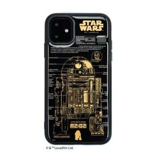 FLASH R2-D2 基板アートiPhone 11 ケース 黒 IP11-250B