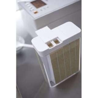 プレート 1合分別冷蔵庫用米びつ(Rice Stocker Plate) ホワイト 3822