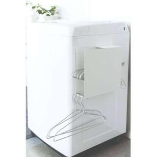 プレート 洗濯機横マグネットハンガーホルダー ホワイト 3876