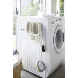 プレート マグネット洗濯ハンガー収納ラックS ホワイト 3918