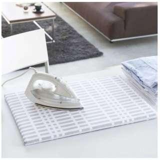 1222 北欧風暮らしの定番 平型アイロン台 チェックグレー(Nordic Style Flat Ironing Board) チェックグレー