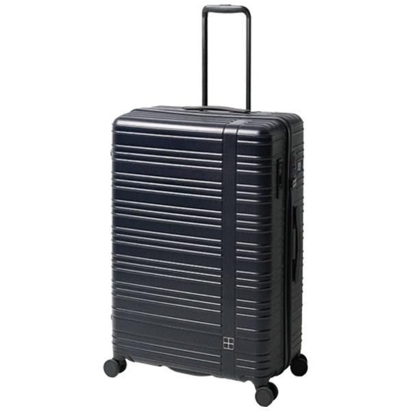 hands+ スーツケース カラーシリーズ ジップ ミッドナイトブルー [90L]