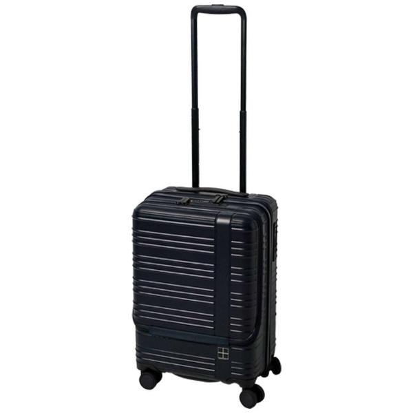 hands+ スーツケース カラーシリーズ フロント ミッドナイトブルー [35L]