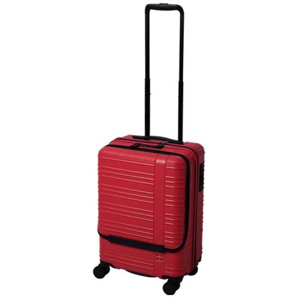 hands+ スーツケース カラーシリーズ フロント ピンク [35L]