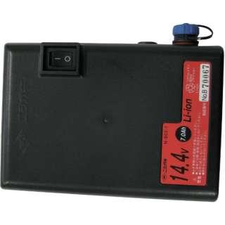 ニシガキ 兼用バッテリー14.4v,7a N-902-1