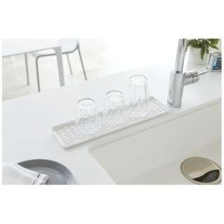 スリムグラスマグスタンド アクア(Slim Glass & Mug Stand AQUA) ホワイト 2621