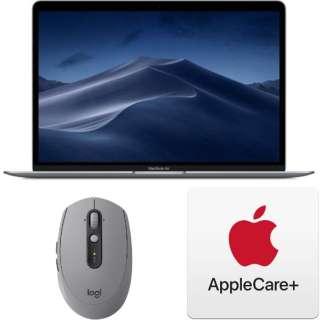 ノートパソコンセット3点 [Macノート] (MacBook Air、マウス、AppleCare) スペースグレイ色