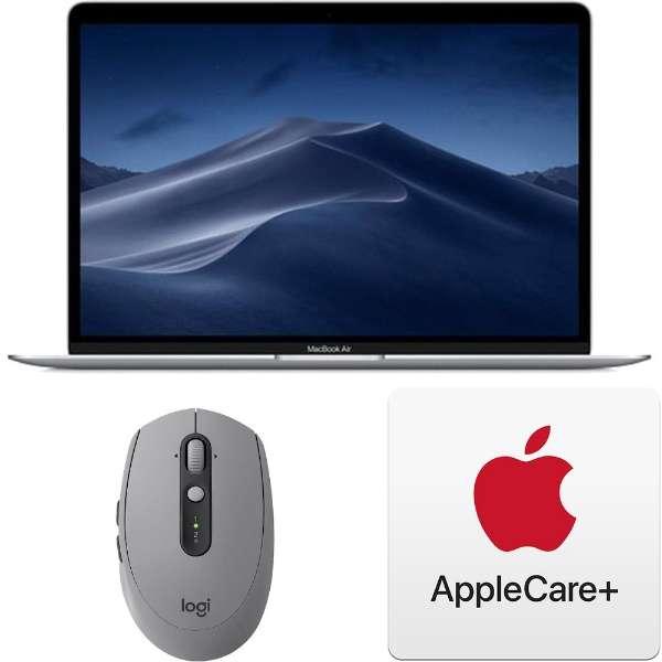 ノートパソコンセット3点 [Macノート] (MacBook Air、マウス、AppleCare) シルバー色